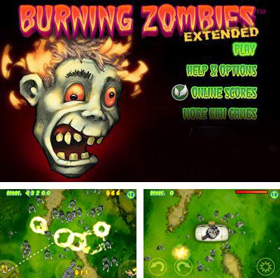 Download Burning Zombies EXTENDED iPhone free game.