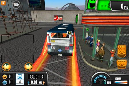 Free Bus Driver download for iPhone, iPad and iPod.