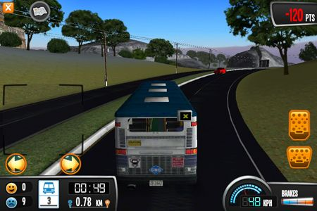 Screenshots of the Bus Driver game for iPhone, iPad or iPod.