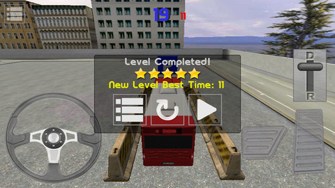 Screenshots of the Bus Parking 3D game for iPhone, iPad or iPod.