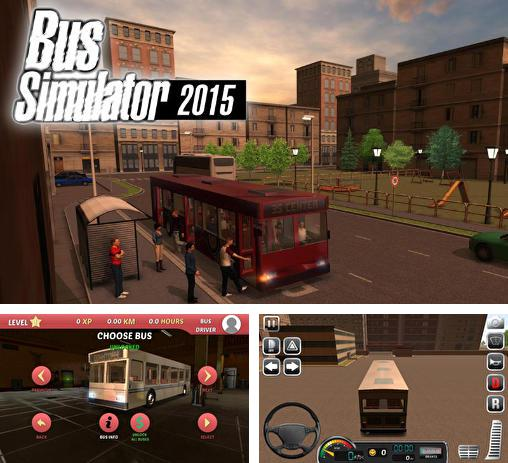 Download Bus simulator 2015 iPhone free game.