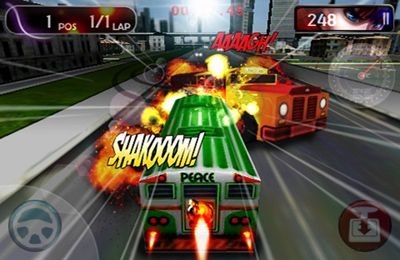 Free Bus Turbo Racing download for iPhone, iPad and iPod.