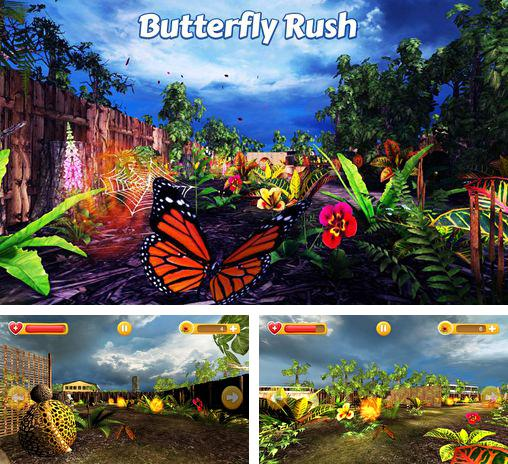 In addition to the game Why does it spin? for iPhone, iPad or iPod, you can also download Butterfly rush for free.