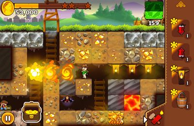 Écrans du jeu California Gold Rush 2 pour iPhone, iPad ou iPod.