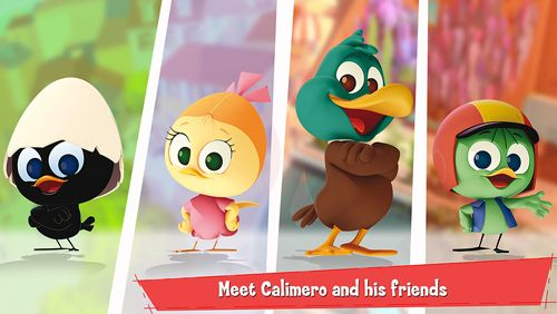 Screenshots of the Calimero's Village game for iPhone, iPad or iPod.