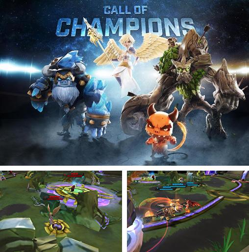 In addition to the game the Sheeps for iPhone, iPad or iPod, you can also download Call of champions for free.