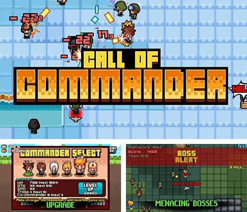 In addition to the game Dungeon ball for iPhone, iPad or iPod, you can also download Call of commander for free.