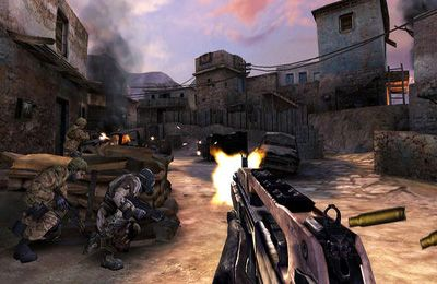 Kostenloser Download von Call of Duty: Strike Team für iPhone, iPad und iPod.