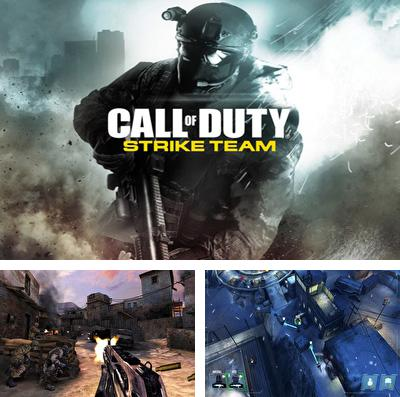 En plus du jeu Flics et pilleurs  pour iPhone, iPad ou iPod, vous pouvez aussi télécharger gratuitement Call of Duty: équipe d'attaque, Call of Duty: Strike Team.