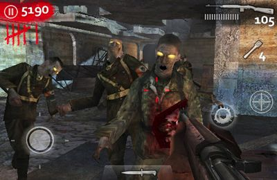 Screenshots do jogo Call of Duty World at War Zombies II para iPhone, iPad ou iPod.