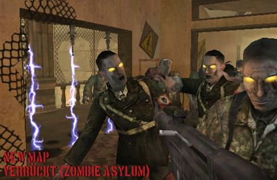 Écrans du jeu Call of Duty World at War Zombies II pour iPhone, iPad ou iPod.