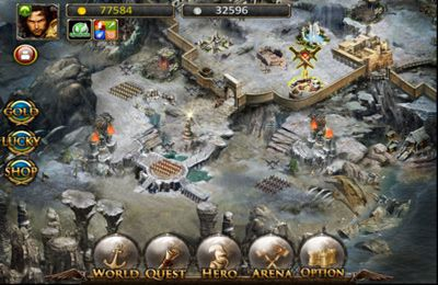 Screenshots of the Call Of Gods game for iPhone, iPad or iPod.