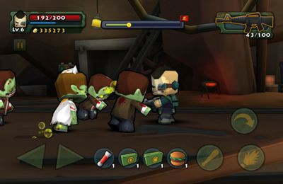 Screenshots vom Spiel Call of Mini: Brawlers für iPhone, iPad oder iPod.
