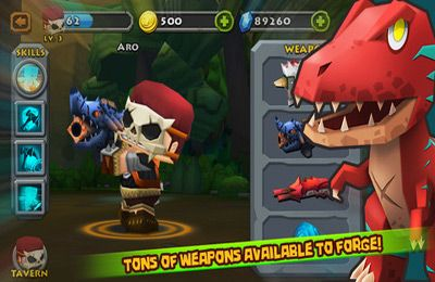 Descarga gratuita de Call of Mini: DinoHunter para iPhone, iPad y iPod.