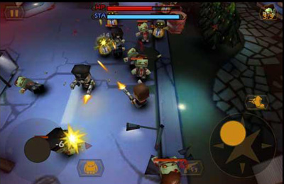 Screenshots vom Spiel Call of Mini: Double Shot für iPhone, iPad oder iPod.