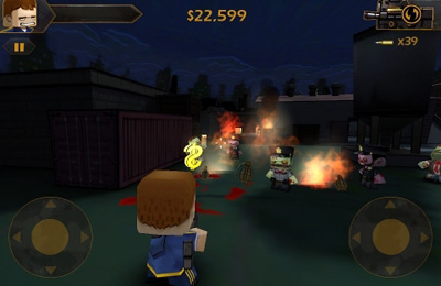 Игра Call of Mini: Zombies для iPhone