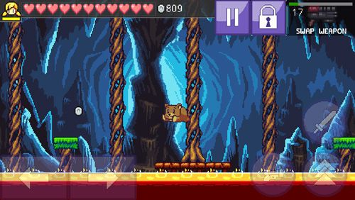 Screenshots of the Cally's caves 3 game for iPhone, iPad or iPod.
