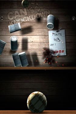 Écrans du jeu Can Knockdown 2 pour iPhone, iPad ou iPod.