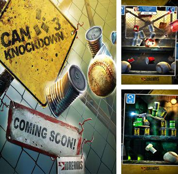 In addition to the game The Creeps! for iPhone, iPad or iPod, you can also download Can Knockdown 3 for free.