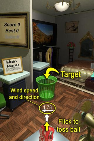Download Can toss iPhone free game.