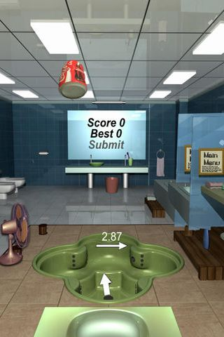 Screenshots of the Can toss game for iPhone, iPad or iPod.