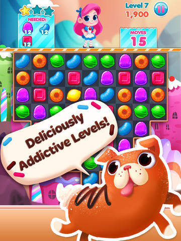 Free Candy Blast Mania download for iPhone, iPad and iPod.
