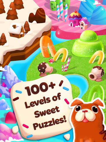 Screenshots of the Candy Blast Mania game for iPhone, iPad or iPod.