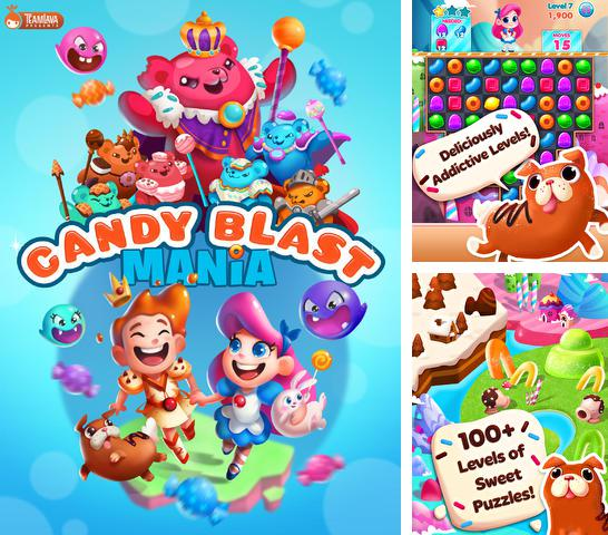 In addition to the game Subway surfers: Hawaii for iPhone, iPad or iPod, you can also download Candy Blast Mania for free.