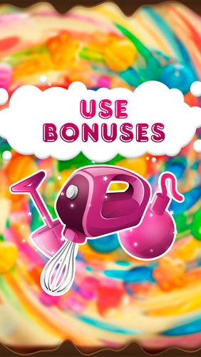 Screenshots of the Candy booms game for iPhone, iPad or iPod.