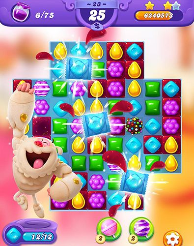 Игра Candy crush friends saga для iPhone
