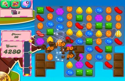Игра Candy Crush Saga для iPhone
