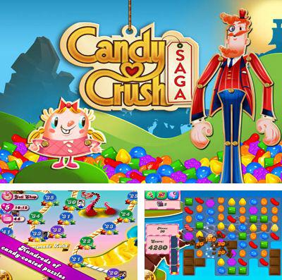 In addition to the game Little Tribes for iPhone, iPad or iPod, you can also download Candy Crush Saga for free.