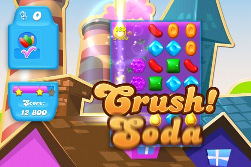 Capturas de pantalla del juego Candy crush: Soda saga para iPhone, iPad o iPod.