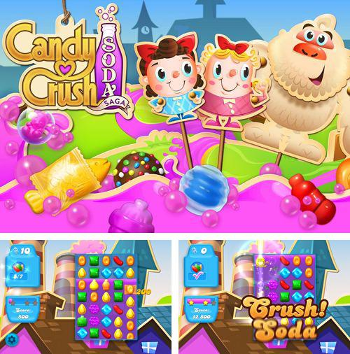 In addition to the game Sky Burger for iPhone, iPad or iPod, you can also download Candy crush: Soda saga for free.