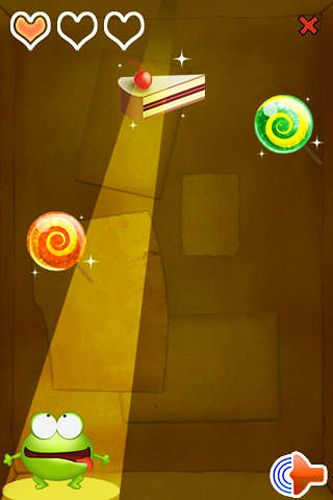 Download Candy frog iPhone free game.