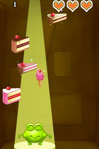 Free Candy frog download for iPhone, iPad and iPod.