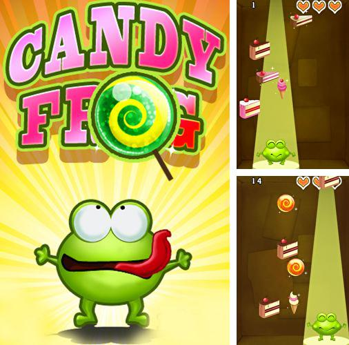 In addition to the game Candy frog for iPhone 3G S, you can download Candy frog for iPhone, iPad, iPod for free.