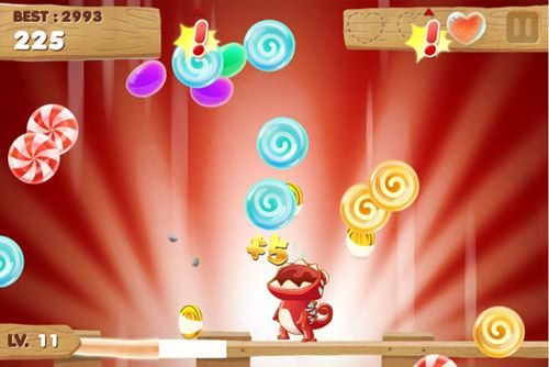 Download Candy Meleon iPhone free game.
