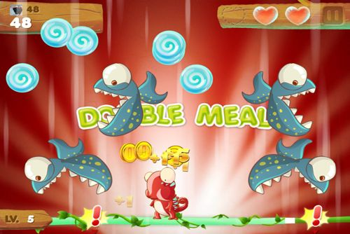 Capturas de pantalla del juego Candy Meleon para iPhone, iPad o iPod.