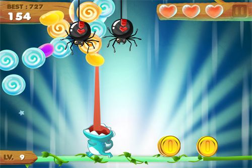 Screenshots of the Candy Meleon game for iPhone, iPad or iPod.