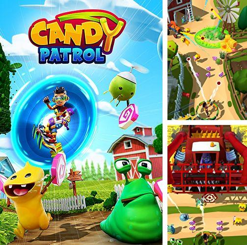 除了 iPhone、iPad 或 iPod 游戏,您还可以免费下载Candy patrol: Lollipop defense, 。
