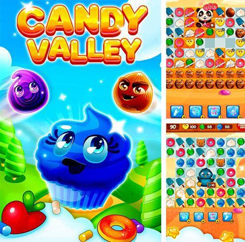 In addition to the game Kill Devils - kill monsters to resist invasion & unite races! for iPhone, iPad or iPod, you can also download Candy valley for free.