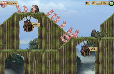 Download Cannibal Bunnies iPhone free game.