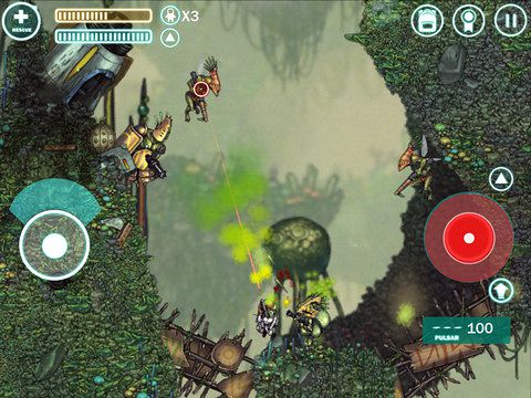 Screenshots of the Capsized game for iPhone, iPad or iPod.