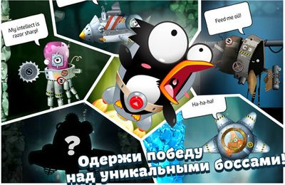 Capturas de pantalla del juego Captain Antarctica para iPhone, iPad o iPod.