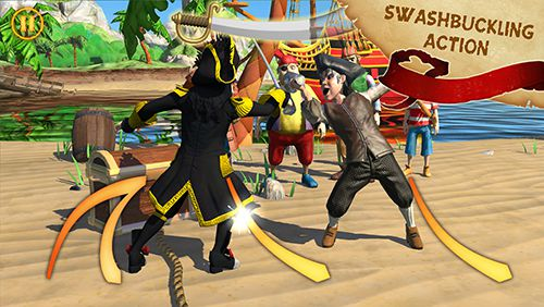 Download Captain Sabertooth and the treasure of Lama Rama iPhone free game.