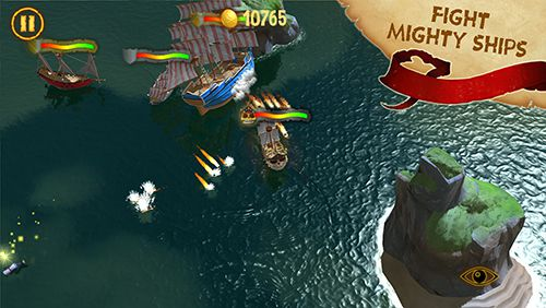 Screenshots of the Captain Sabertooth and the treasure of Lama Rama game for iPhone, iPad or iPod.