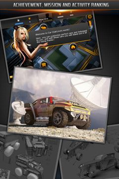 Screenshots of the Car Club Live game for iPhone, iPad or iPod.