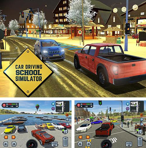 In addition to the game Gardenscapes: Mansion makeover for iPhone, iPad or iPod, you can also download Car driving school simulator for free.
