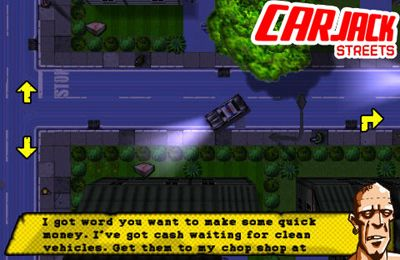 Screenshots do jogo Car Jack Streets para iPhone, iPad ou iPod.